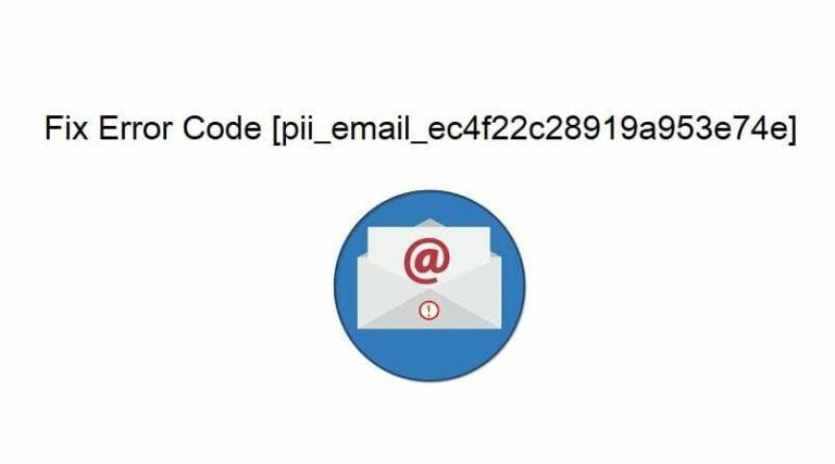 fix error code [pii_email_ec4f22c28919a953e74e]