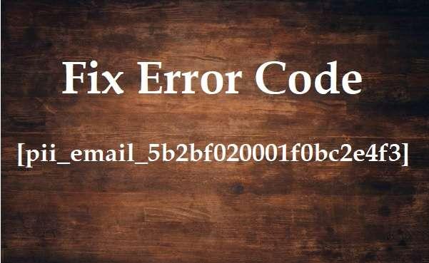 Fix error code [pii_email_5b2bf020001f0bc2e4f3]