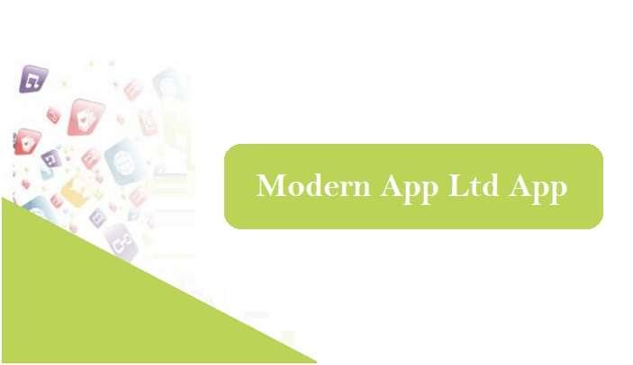 Modern App Ltd App