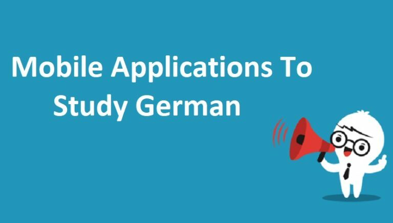 Best Mobile Applications To Study German