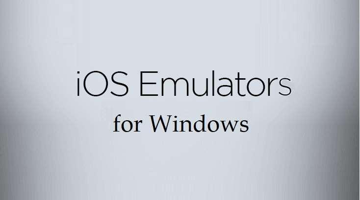 iOS Emulators